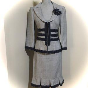 Nanette Lepore Skirt & Jacket Set